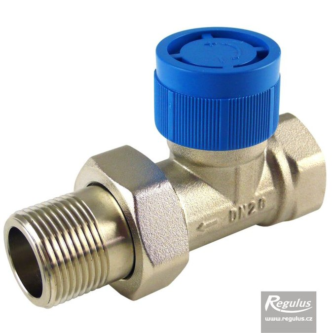 Photo: Radiator Valve, straight, female thread