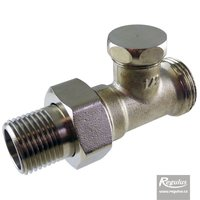 "Picture: Lockshield Valve, straight, 1/2"" Eurocone"