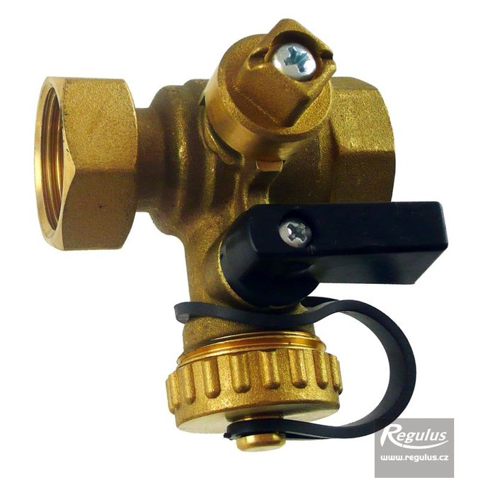 Photo: Ball Valve w. drain valve, Fu/F