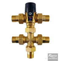 "Picture: TVmix Anti-Scald Valve, G 3/4"" M, ZV, recirculation"