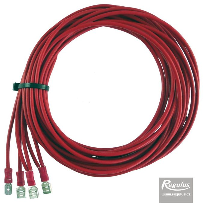 Photo: Connection Cable for 3rd electronic anode rod, 3m long