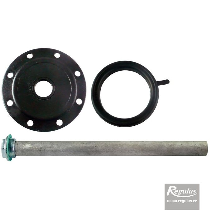 Photo: Flange with Anode Rod for RxDC 160 Hot Water Storage Tank