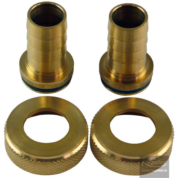 Photo: Hose Tail for drain valves (set of 2), for flowsetter
