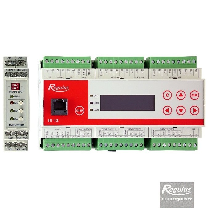 Photo: IR 12 CTC KRB EN Controller
