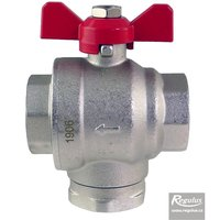 Picture: Magnet Filterball Ball Valve w.butterfly handle
