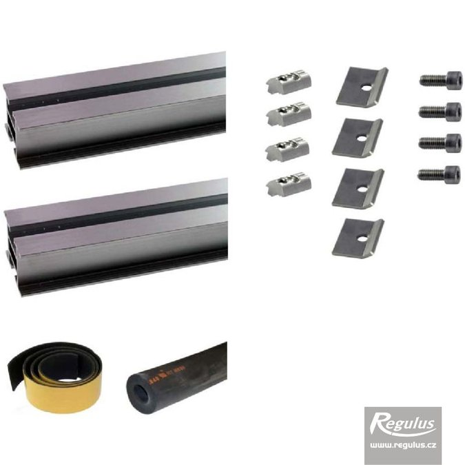 Photo: Mount kit for 1 KTU 15, KTU 9R  solar collector