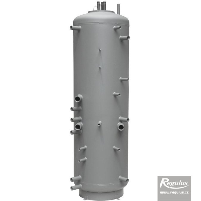 Photo: DUO 390/130 PR Thermal Store with Immersed DHW Tank