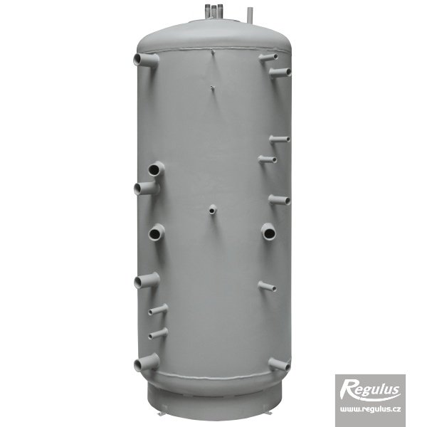 Photo: DUO 750/200 Thermal Store with Immersed DHW Tank