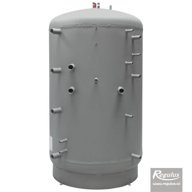 Photo: DUO 1700/200 Thermal Store with Immersed DHW Tank