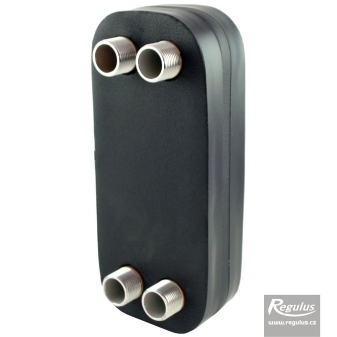 Photo: DV285-10E Plate Heat Exchanger, insulated
