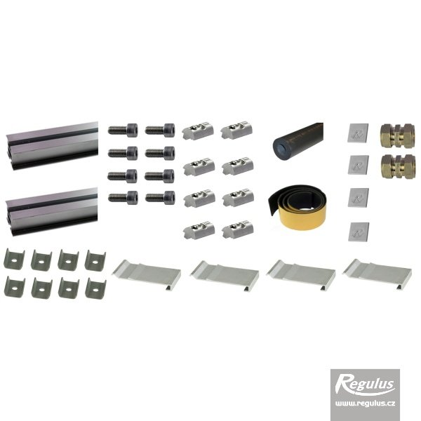 Photo: Mount and interconnection kit for 2 KPS11+ solar collectors
