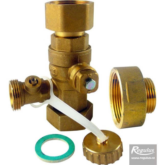 "Photo: 6/4"" Service Valve for expansion vessels, F/F"