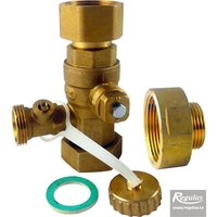 "Picture: 6/4"" Service Valve for expansion vessels, F/F"