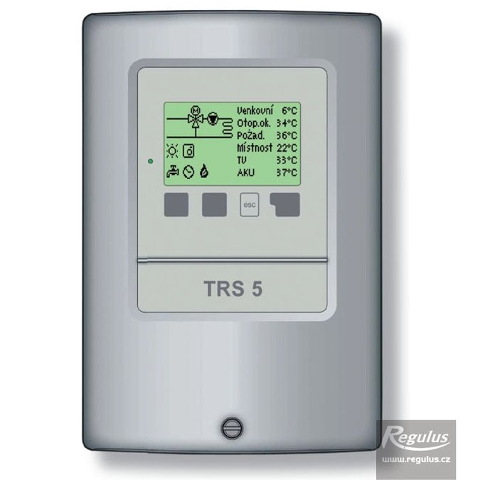 Photo: TRS5 Heating Controller