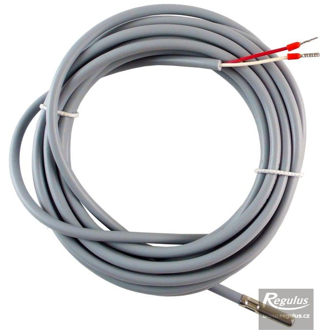 Photo: Pt1000 temperature sensor with 4m cable, for hot water storage tank