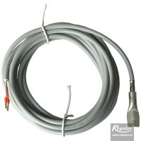 Picture: Contact temperature sensor Pt1000 with 4 m cable, pipe mount