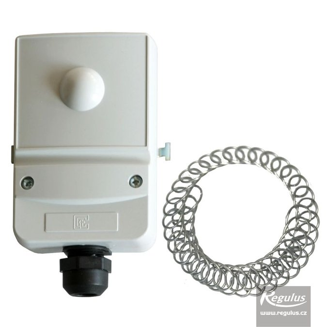 Photo: Encased adjustable contact thermostat, 17-90°C, screwdr.adjustment
