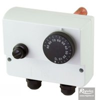 Picture: Double encased adjustable immersion thermostat, 0-90/100°C