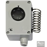 Picture: Encased room thermostat, -35/+35°C, IP 55, stainless-steel sensor