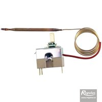 Picture: Adjustable thermostat, 0-210°C, 1m capillary, copper sensor d=5mm