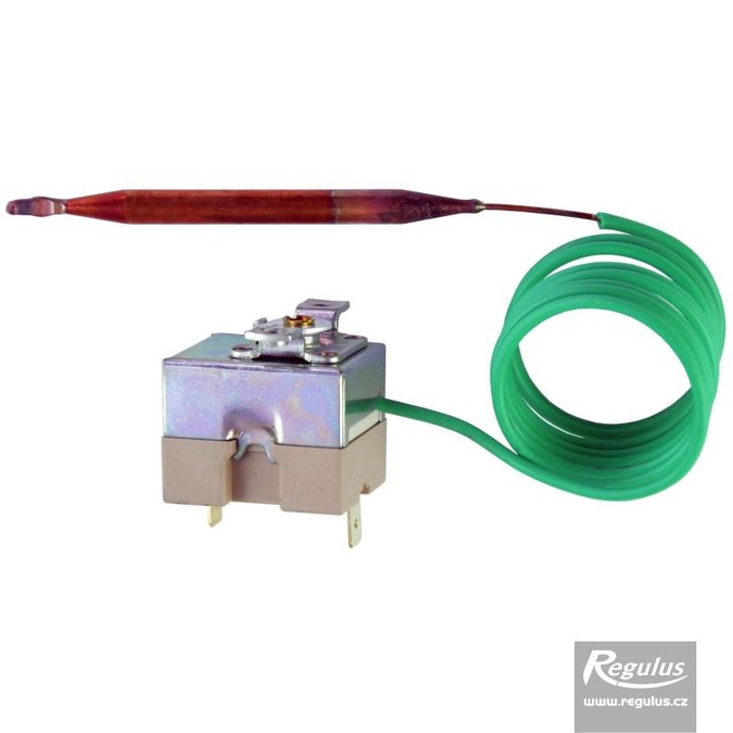 Photo: Adjustable thermostat, 25-70°C, 1m capillary, gold-pl.contacts, SPST