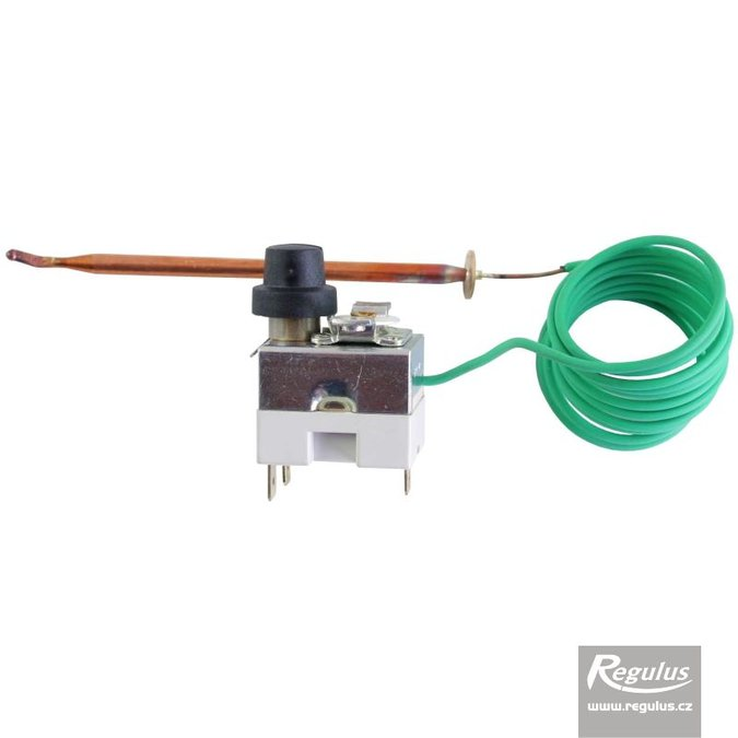 Photo: Safety thermostat, 63-90°C, 1.5m capillary, for chimney