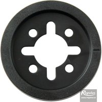 Picture: Knob frame, black